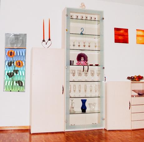 Luftbefeuchter im Wohnzimmer
