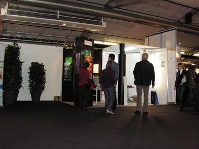 3D-Befeuchter an Bau- und Energiemesse Bern