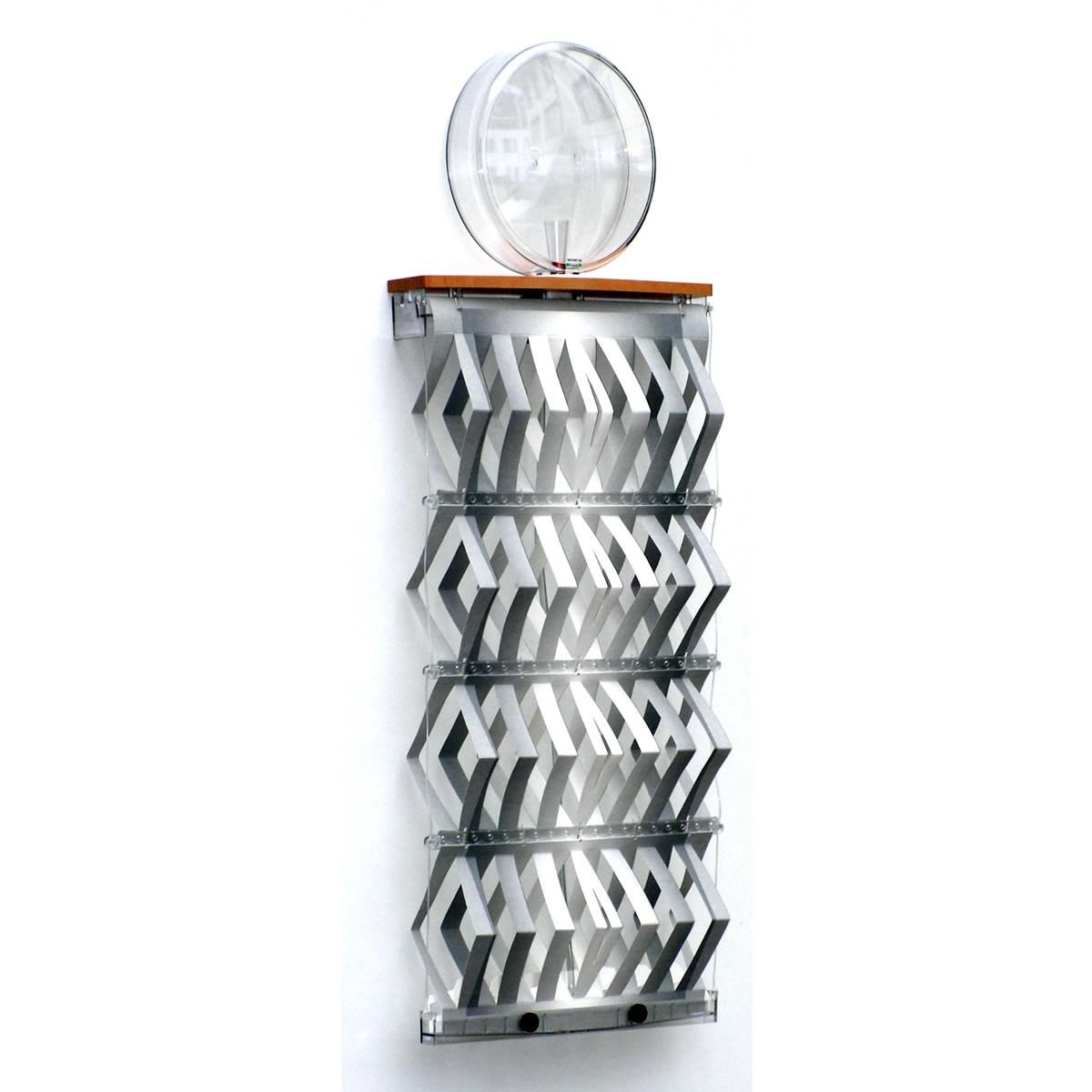 Luftbefeuchter von Necono AG ohne Strom Motiv Metall