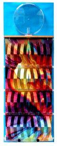 Luftbefeuchter, mit Hintergrundfolie