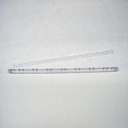 Detailansicht - Trägersaiten und Klemmschiene