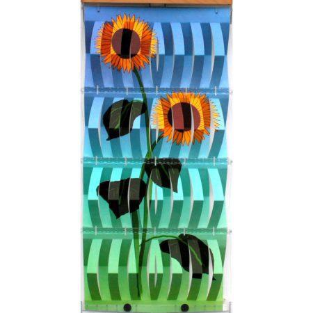 """Detailansicht - Verdunstungsposter """"Sonnenblume"""""""