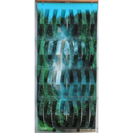 "Detailansicht - Verdunstungsposter ""Wasserfall"""