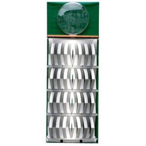"""3D Befeuchter - Komplettgerät Metall mit Dekorfolie """"grün"""""""