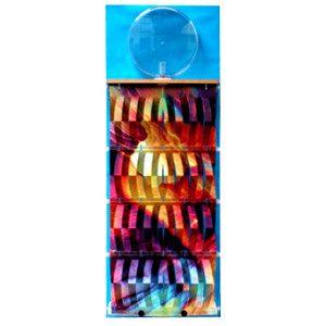 """3D Befeuchter - Komplettgerät Pastell mit Dekorfolie """"blau"""""""
