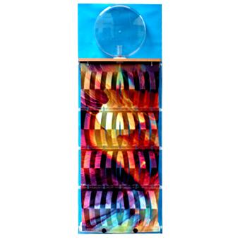 3d-Humidifier pastel, complete, foil blue