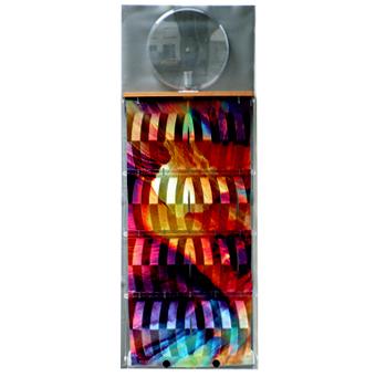 3d-Humidifier pastel, complete, foil metal