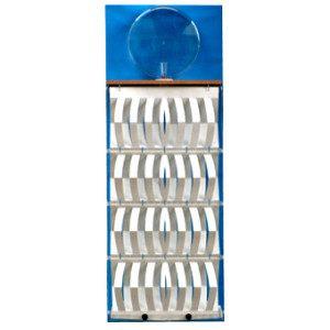 """3D Befeuchter - Komplettgerät Pergament mit Dekorfolie """"blau"""""""