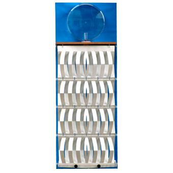 3d-Humidifier perchment, complete, foil blue