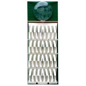 "3D Befeuchter - Komplettgerät Pergament mit Dekorfolie ""grün"""