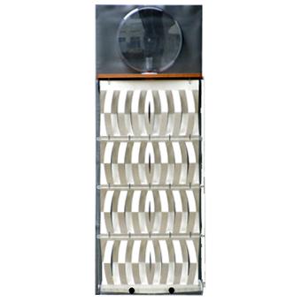 3d-Humidifier perchment, complete, foil metal