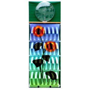 "3D Befeuchter - Komplettgerät Sonnenblume mit Dekorfolie ""grün"""