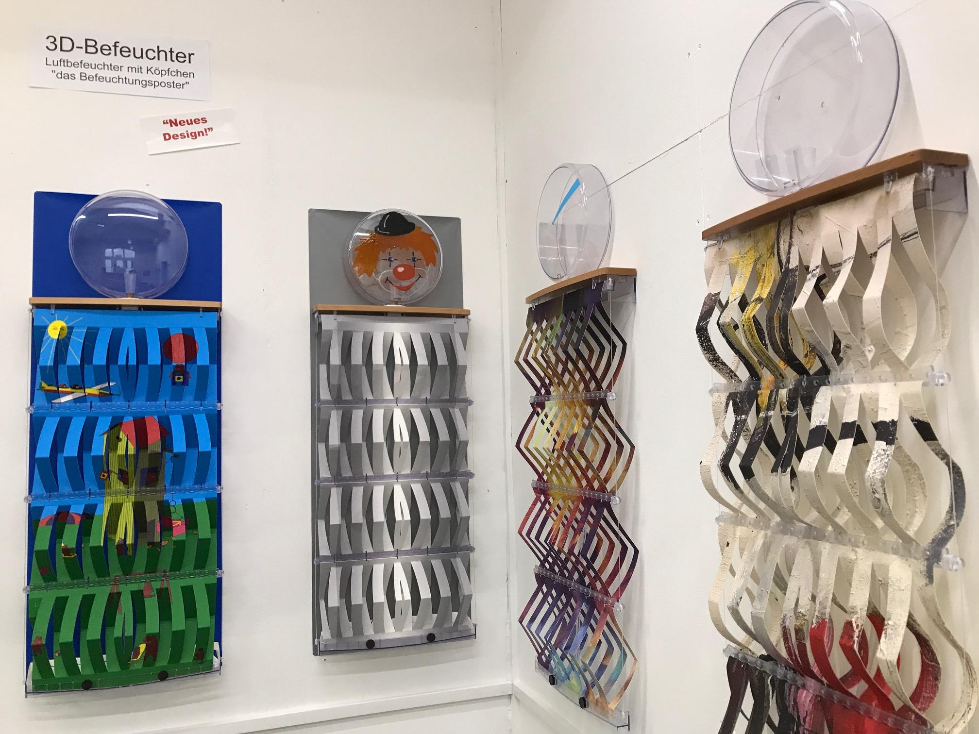 Luftbefeuchter von Necono AG in Ausstellung
