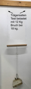 Luftbefeuchter-Qualitätstest Trägersaiten