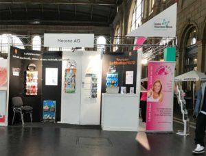 Luftbefeuchter von Necono AG an der Ausstellung Precura HB-Zürich