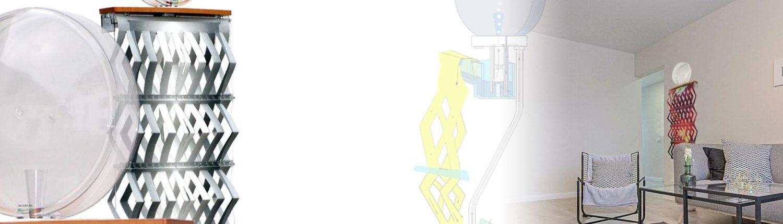 Necono Raumluftbefeuchter und Anwendungsbeispiel