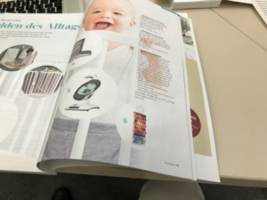 Eintrag in Baby-Rose Katalog