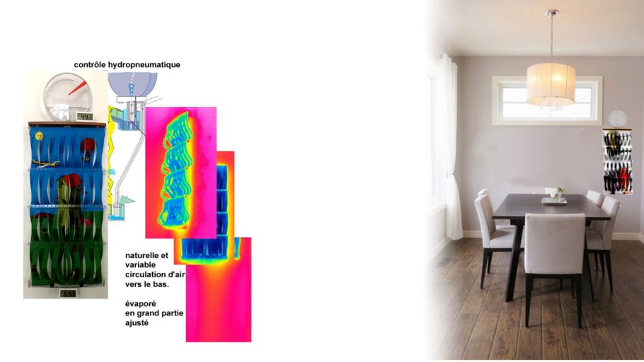 contrôle de l'humidificateur 3D