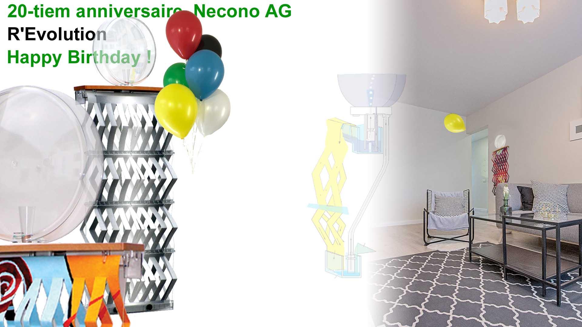20-tiem anniversaire Necono AG